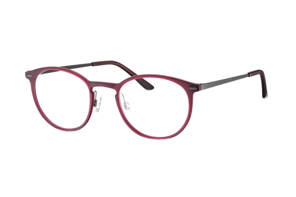 Humphrey's 581031 50 Brille in rot transparent - megabrille