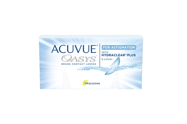 Johnson&Johnson ACUVUE® OASYS™ for ASTIGMATISM 6er Box 14-Tageslinse - megabrille