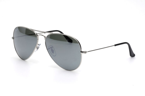 Ray-Ban Aviator Large Metal RB 3025 W3277 Sonnenbrille in silver - megabrille