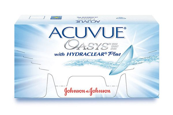 Johnson&Johnson ACUVUE® OASYS™ 6er Box with Hydroclear™ Plus - megabrille