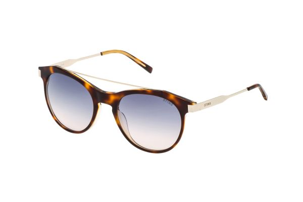Sting SST073 0AHW Sonnenbrille in top avana/giallo lucido - megabrille