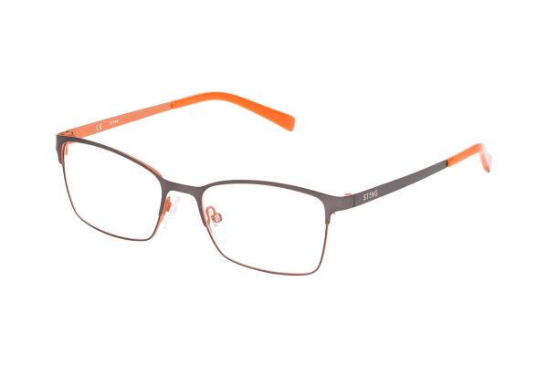 Sting Junior VSJ401 08KB Kinderbrille in canna di fucile con arancio - megabrille