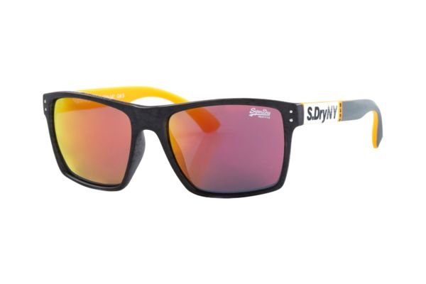 Superdry SDS Kobe 182 Sonnenbrille in grau/orange matt - megabrille