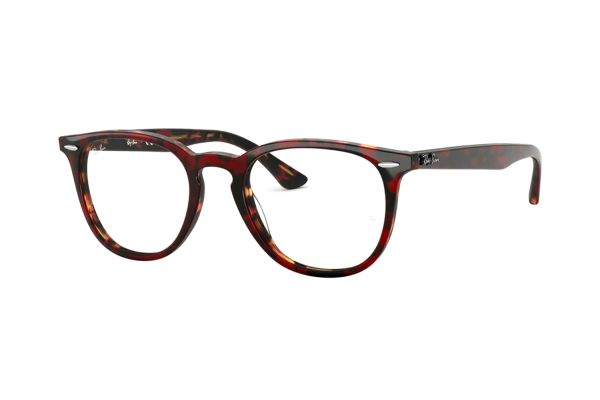 ay-Ban RX7159 5911 Brille in top trasp red on havanaorange - megabrille