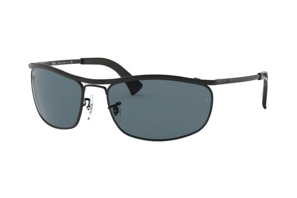 Ray-Ban Olympian RB 3119 9161R5 Sonnenbrille in top black demishiny/black - megabrille