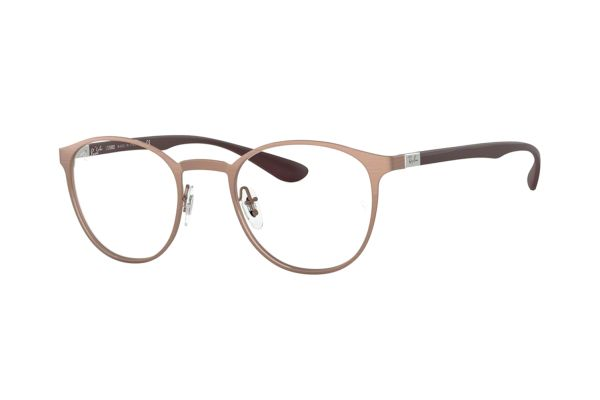 Ray-Ban RX6355 3058 Brille in brusched copper - megabrille