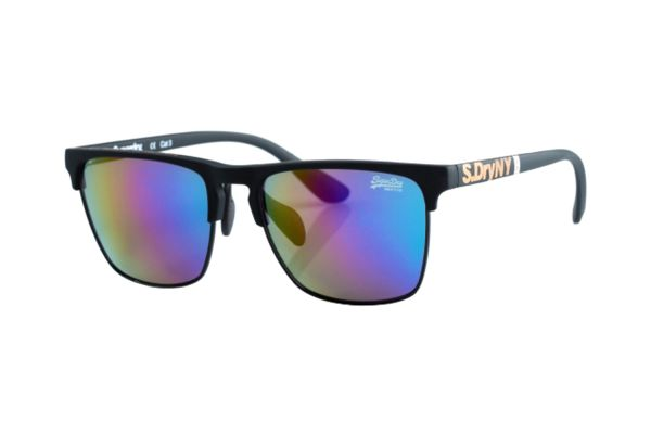 Superdry SDS Superflux 127 Sonnenbrille in schwarz matt - megabrille