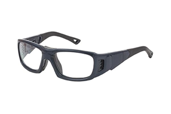 Leader ProX S 365517000 Sportbrille in metallic navy - megabrille