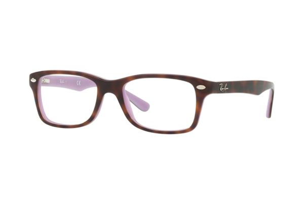 Ray-Ban RY1531 3700 Brille in top havana on violet - megabrille