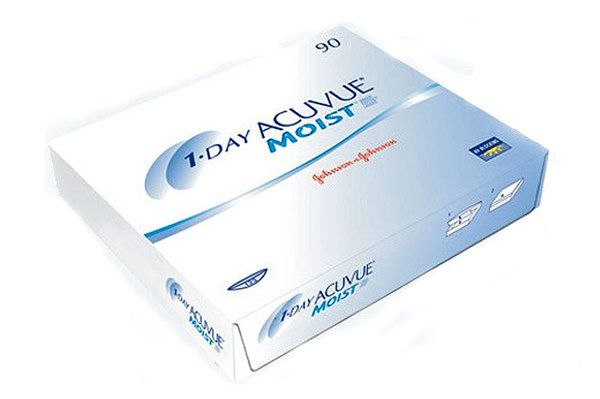 Johnson&Johnson 1-DAY ACUVUE Moist 90er Box Tageslinsen - megabrille