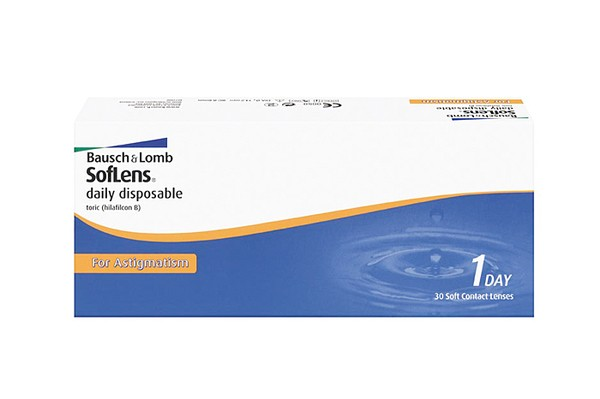 Bausch & Lomb SofLens Daily Disposable Astigmatism 30er Box - Tageslinsen - megabrille