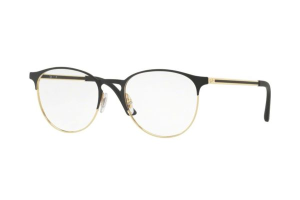 Ray-Ban RX6375 2890 Brille in gold top in black - megabrille