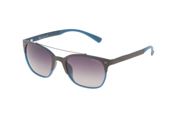Police Game 5 SPL161 MB6P Sonnenbrille in marrone s/opaco eff. lino - megabrille