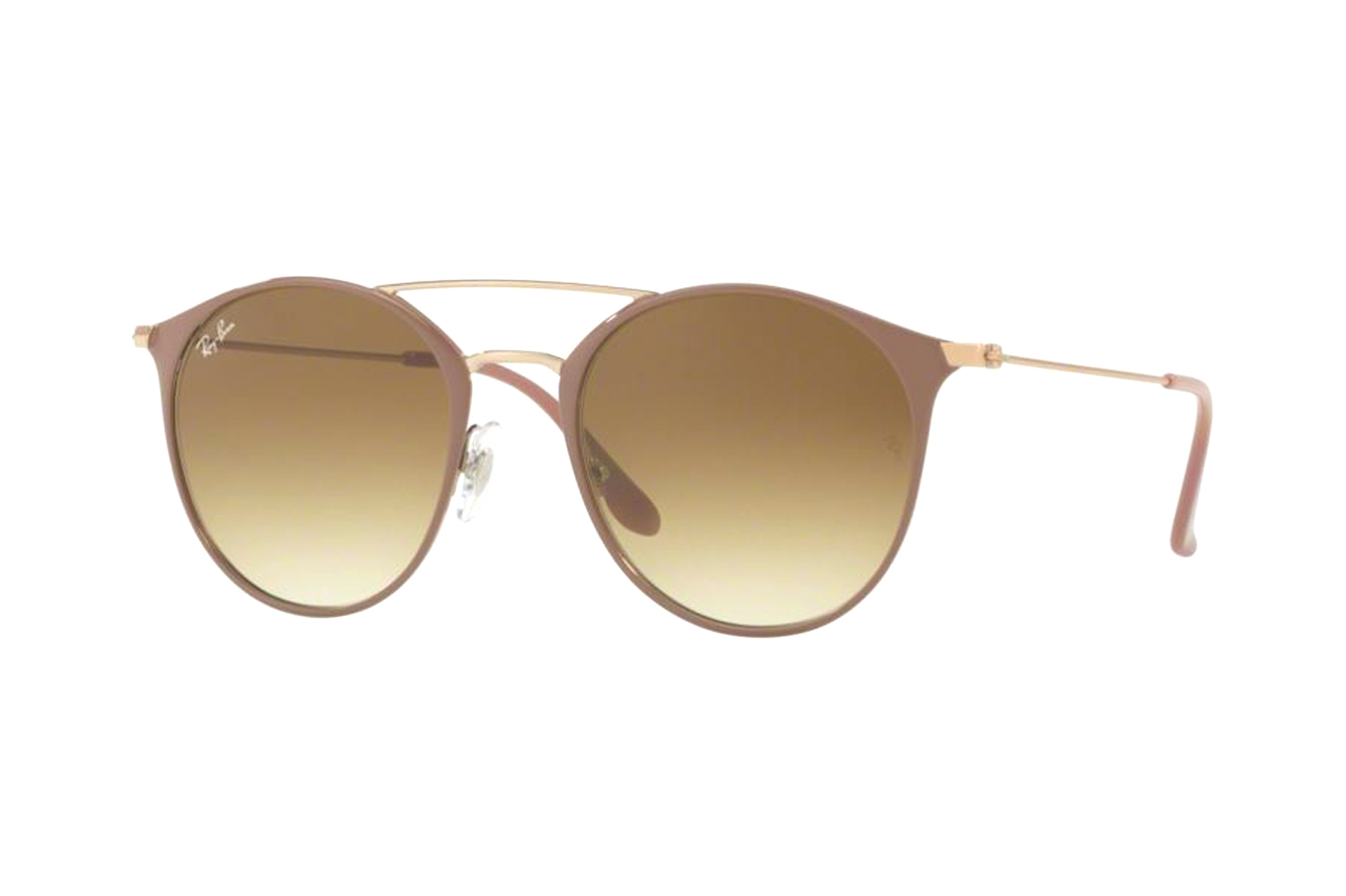 Ray-Ban RB 3546 907151/2N Sonnenbrille in copper top on beige 49/20 sFYuP6JKn
