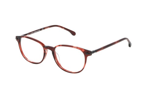 Lozza VL4053 01EW Brille in bordeaux striato - megabrille