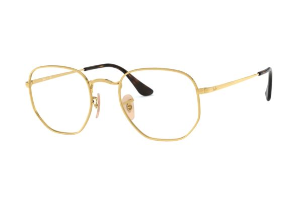 Ray-Ban RX6448 2500 Brille in gold - megabrille