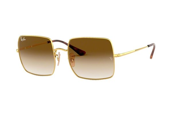 Ray-Ban Square RB 1971 914751 Sonnenbrille in gold - megabrille