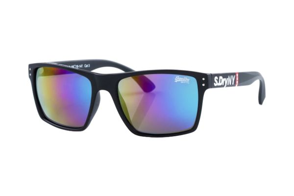 Superdry SDS Kobe 196 Sonnenbrille in schwarz matt