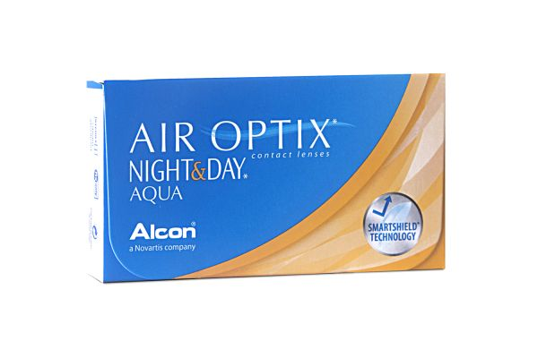 Alcon AIR OPTIX NIGHT & DAY AQUA - Monatslinsen - megabrille