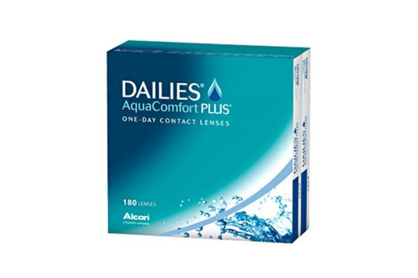 Alcon DAILIES AquaComfort Plus 180er Pack - Tageslinsen - megabrille