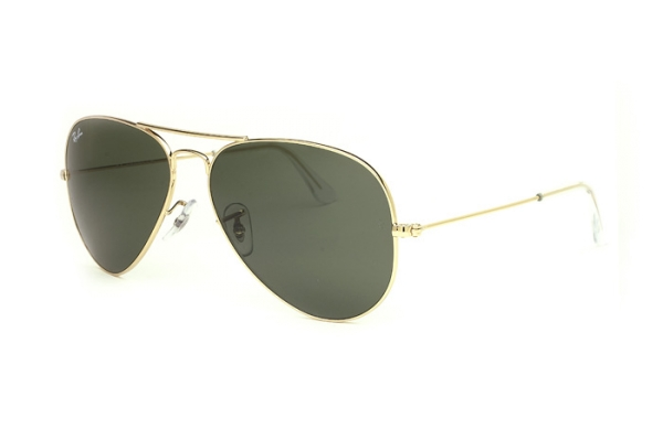 Ray-Ban Aviator Large Metal RB 3025 L0205 Sonnenbrille in gold - megabrille