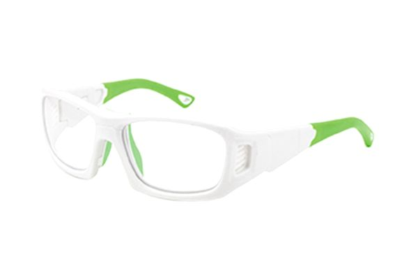 Leader ProX L 365535000 Sportbrille in shiny white/lime - megabrille