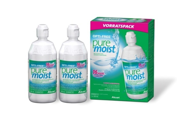 Alcon Pflegemittel OPTI-FREE PureMoist | 2x 300ml - megalinse