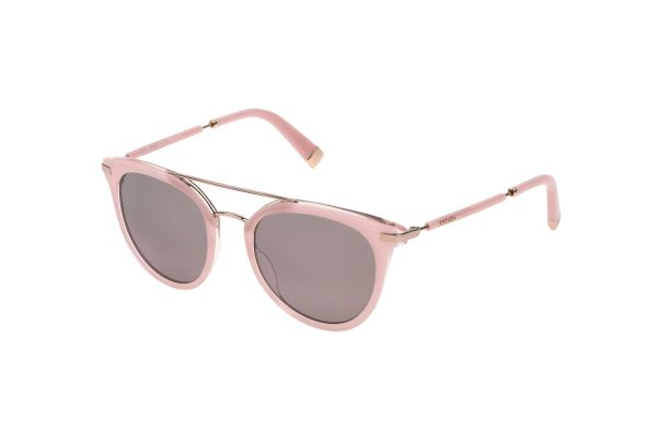 Escada SES401 N42X Sonnenbrille in shiny full pink/transparent - megabrille