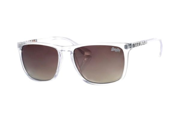 Superdry SDS Shockwave 165 Sonnenbrille in transparent - megabrille