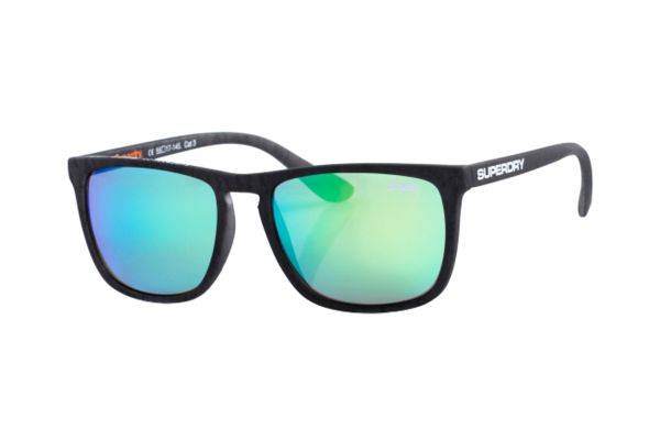 Superdry SDS Shockwave 182 Sonnenbrille in grau matt - megabrille