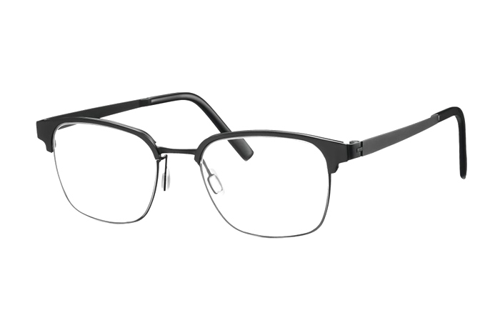 TITANflex URBAN 820705 10 Brille in schwarz 51/20