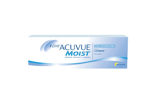 Johnson&Johnson 1-DAY ACUVUE Moist for ASTIGMATISM 90er Box Torische Tageslinsen - megabrille