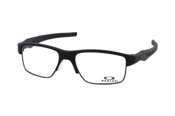 Oakley Crosslink Switch OX3128 01 Brille in satin black - megabrille
