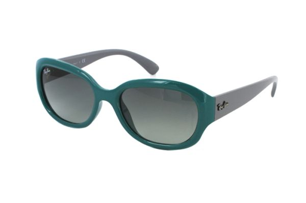 54e98efdc104ad Ray-Ban RB 4198 6047/71 Sonnenbrille in green/grey - megabrille