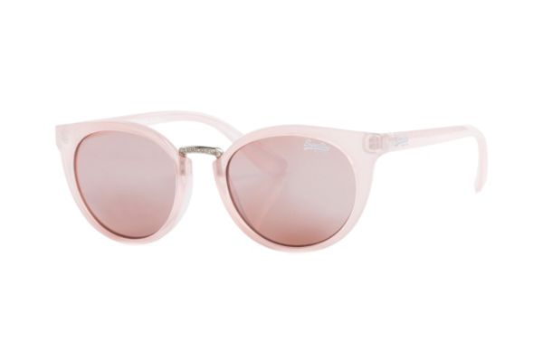 Superdry SDS Girlfriend 172 Sonnenbrille in rose transparent - megabrille