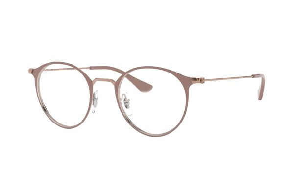 Ray-Ban RX6378 2973 Brille in copper on top light brown - megabrille