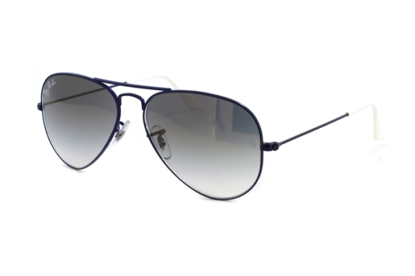 Ray-Ban Aviator Large Metal RB 3025 087/32  Sonnenbrille in lila - megabrille