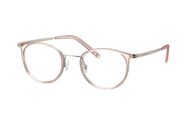 Marc O'Polo 501024 00 Kinderbrille in silber semi matt/rosé transparent - megabrille
