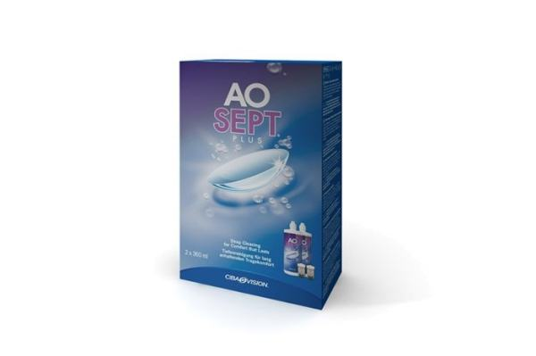 Alcon Pflegemittel AOSEPT PLUS | 2x 360ml - megabrille
