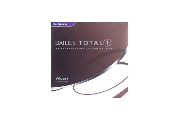 Alcon DAILIES TOTAL1 Multifocal 90er Box Tageslinsen - megabrille
