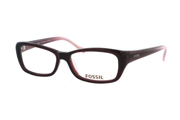FOSSIL Cascade Locks OF 2118 600 Brille in rotbraun - megabrille