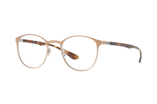 Ray-Ban RX6355 2732 Brille in brushed light brown - megabrille