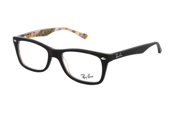 ba30e079b6a621 Brillen Online | Ray-Ban RX5228 5409 in top mat havana su tex ...