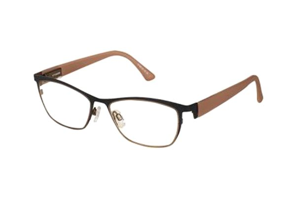 eye:max 5128 0039 Brille in bleached cedar/on the rocks matt - megabrille
