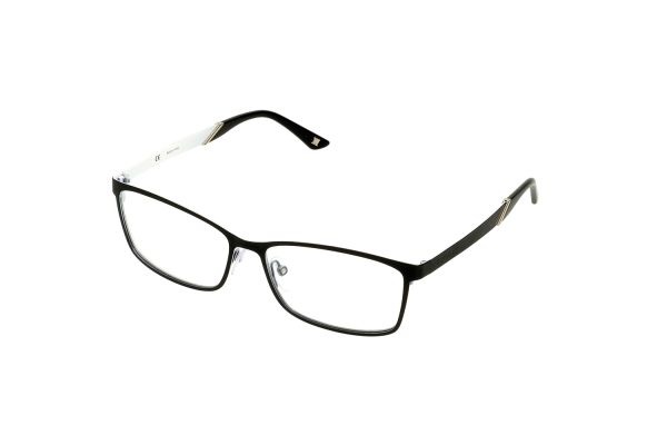 Escada VES847 0Q46 Brille in nero semiopaco c/parti color - megabrille