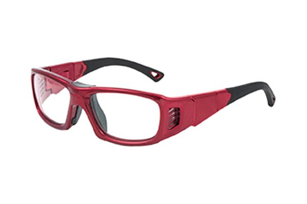 Leader ProX S 365516000 Sportbrille in metallic red - megabrille