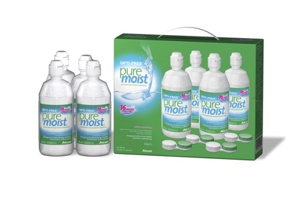 Alcon Pflegemittel OPTI-FREE PureMoist | 4x 300ml - megalinse