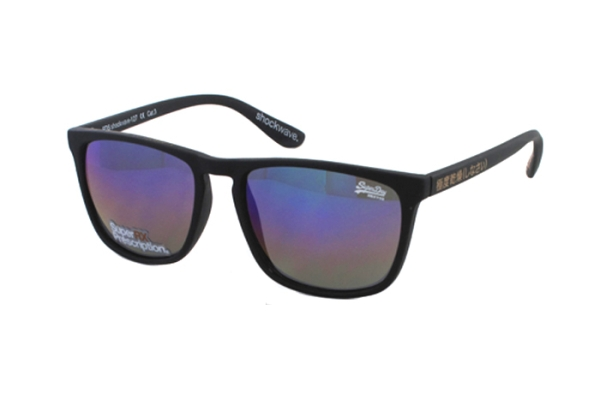 Superdry SDS Shockwave 127 Sonnenbrille in schwarz - megabrille