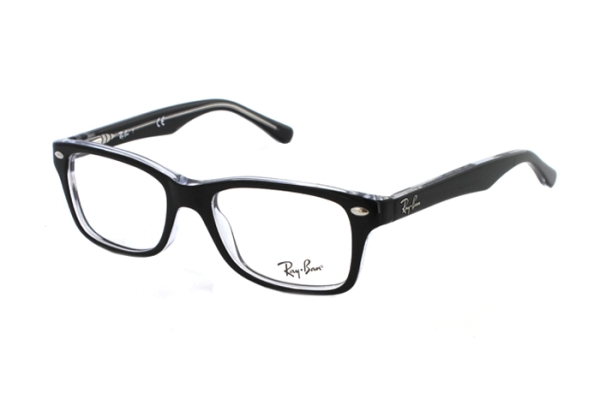 Ray-Ban RY1531 3529 Brille in schwarz/transparent - megabrille