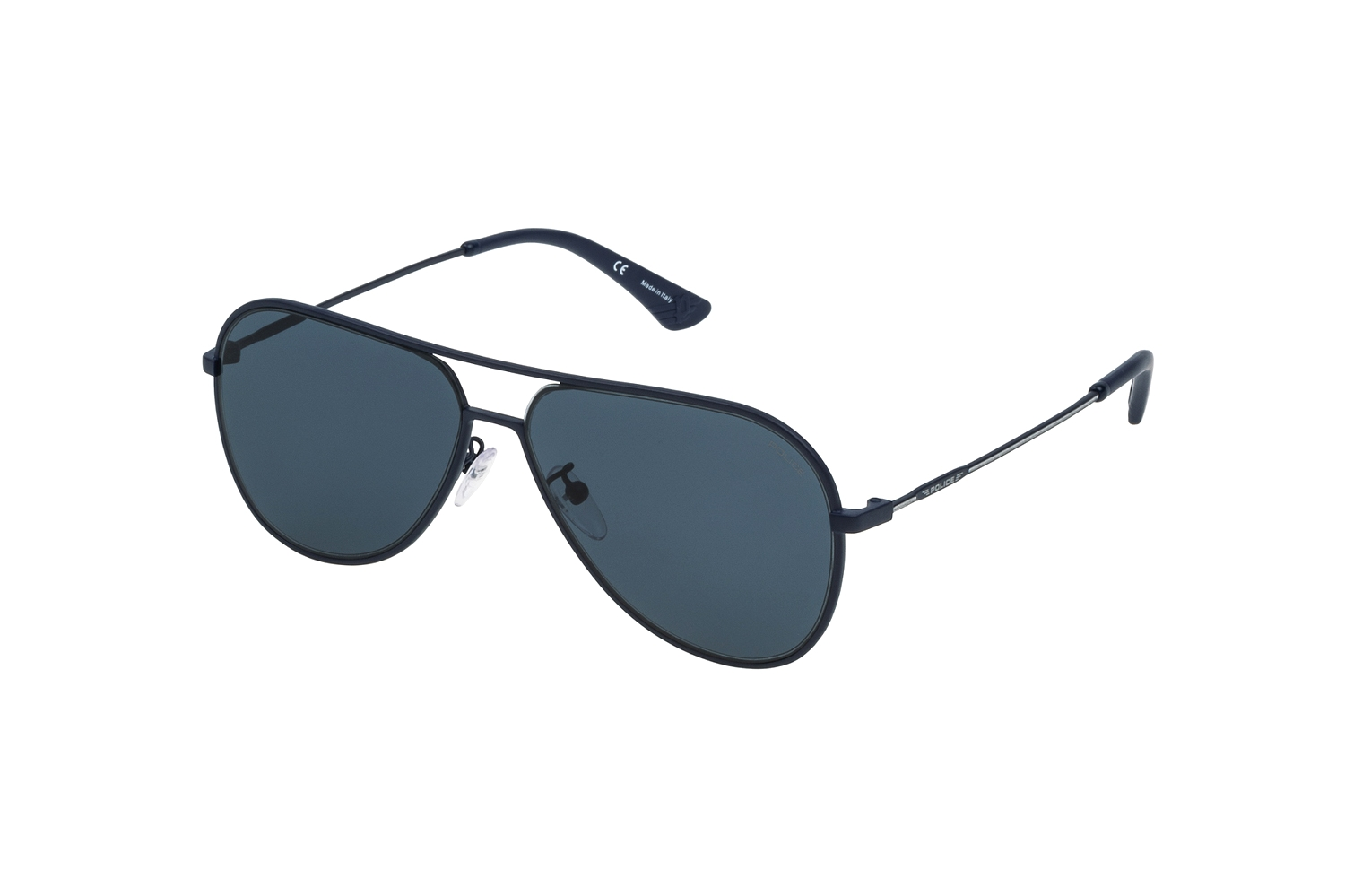 Police Highway Two 1 SPL359 1HLB Sonnenbrille in blu notte opaco 59/13 kUYwn
